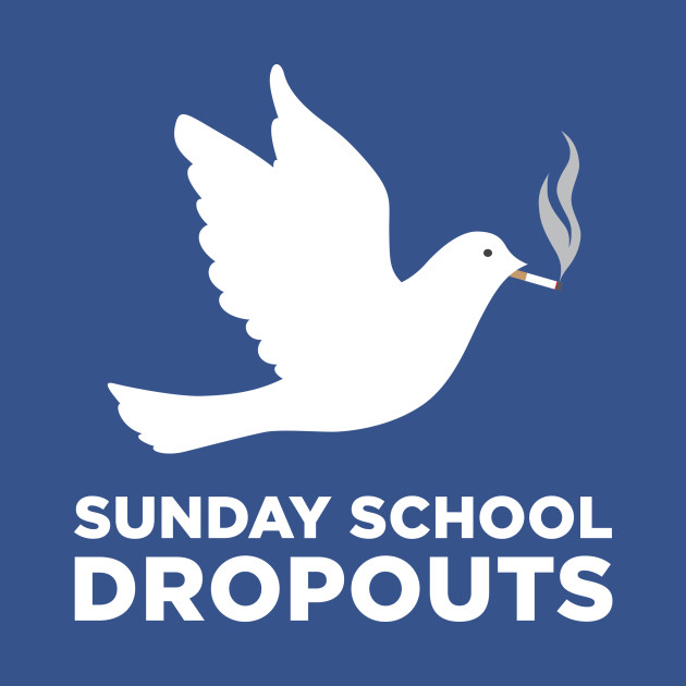 Sunday School Dropouts (title and logo)