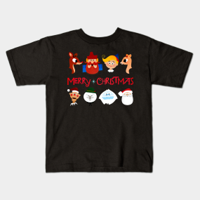 Rudolph The Red Nosed Reindeer kids-t-shirt