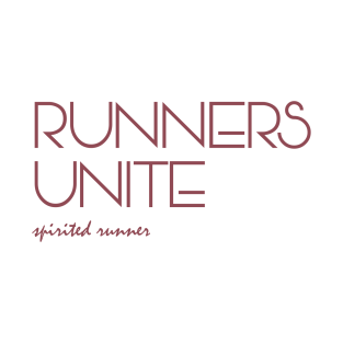 Runners Unite t-shirts