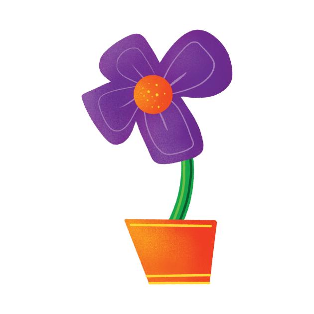 Flower from Spencer Stays Inside