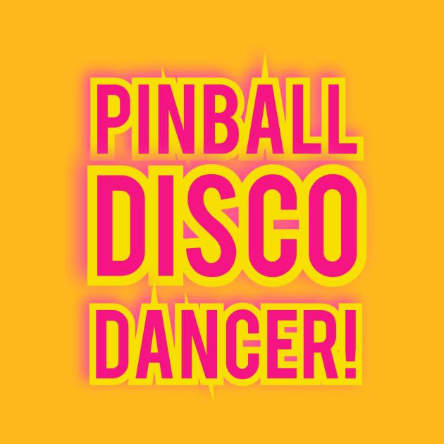 Pinball Disco Dancer Back Jimmy Front