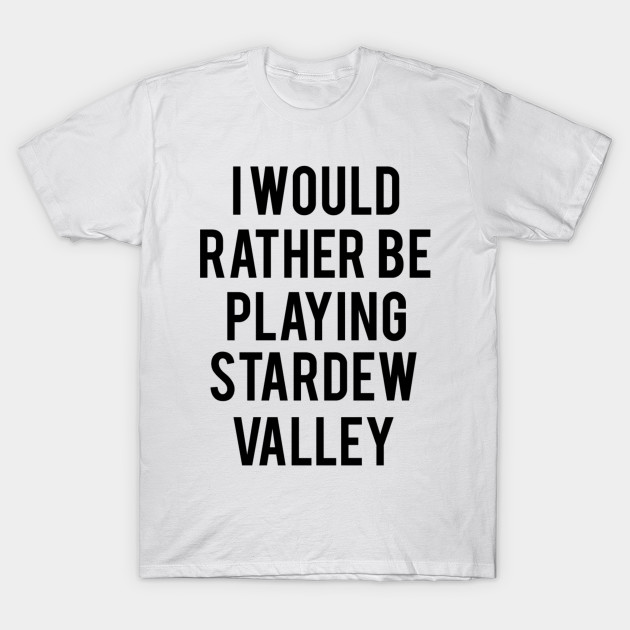 stardew valley shirts