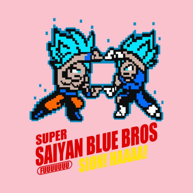 Super Saiyan Blue Bros