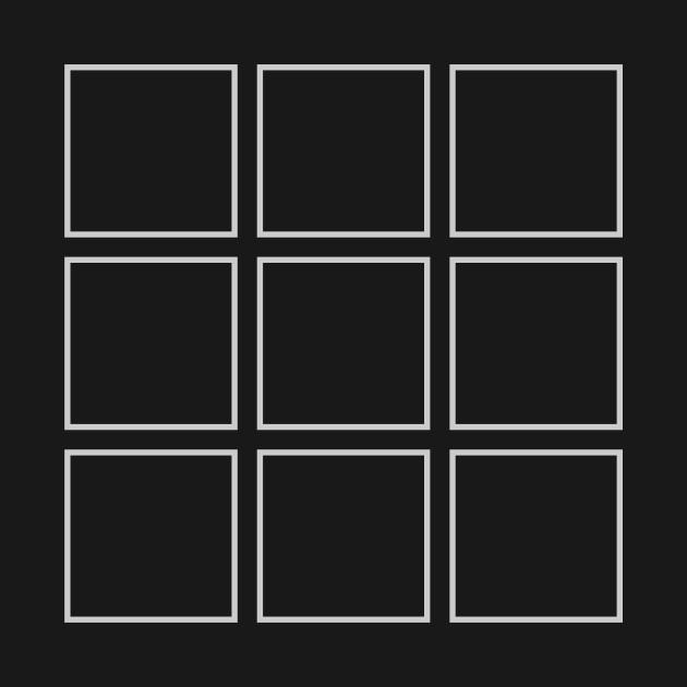 nine squares three t shirt