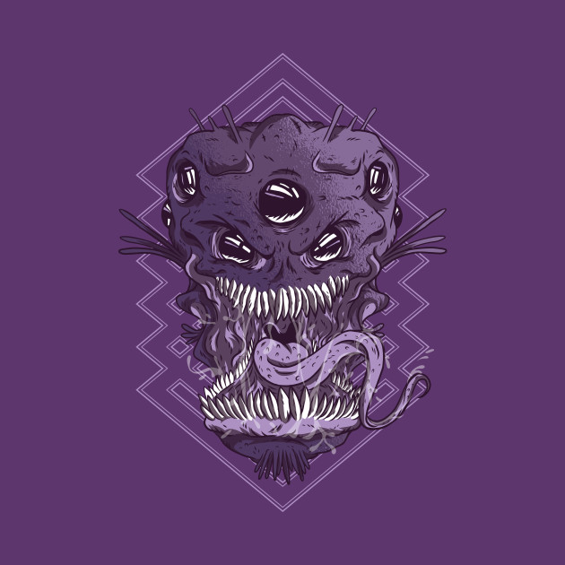 Alien Monster Head