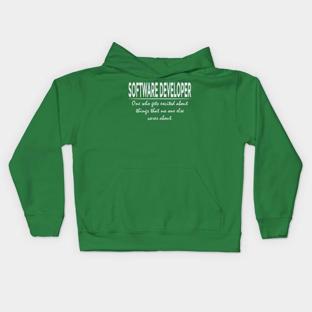 0e4c2c32 Funny Software Developer Definition Cool Programmer T-Shirt Kids Hoodie