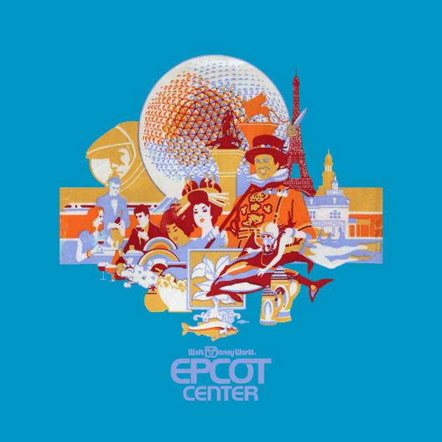 Retro EPCOT Center Logo