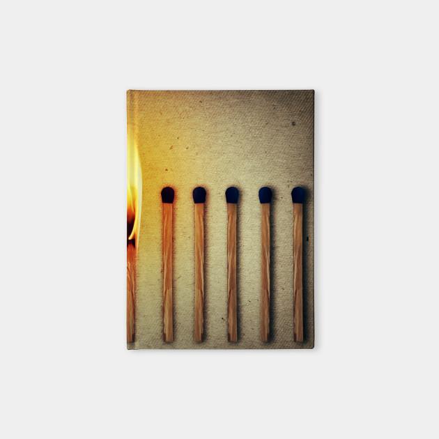 match burning alone