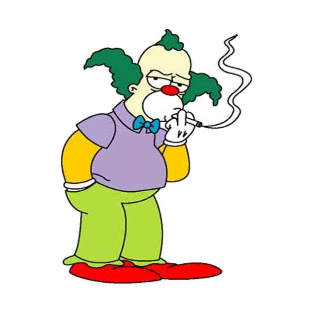 Krusty the clown smoking images - Clown simpson ...