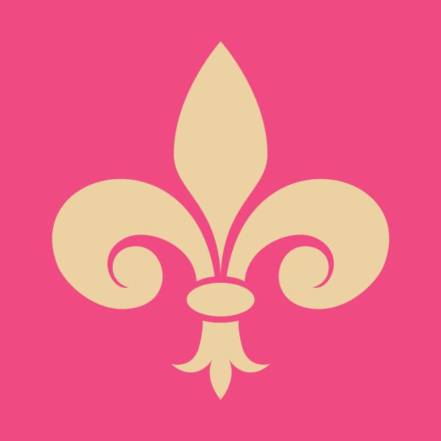 Fleur De Lis Symbol Fleur De Lis Symbol T Shirt Teepublic