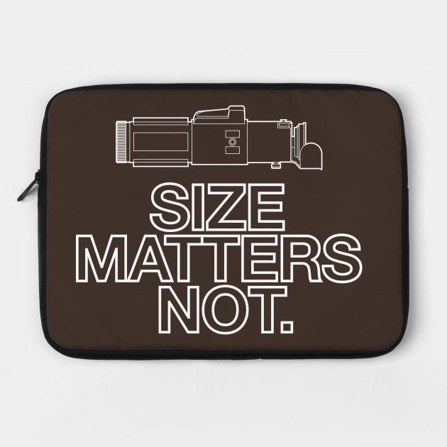 Size Matters Not Yoda Lightsaber