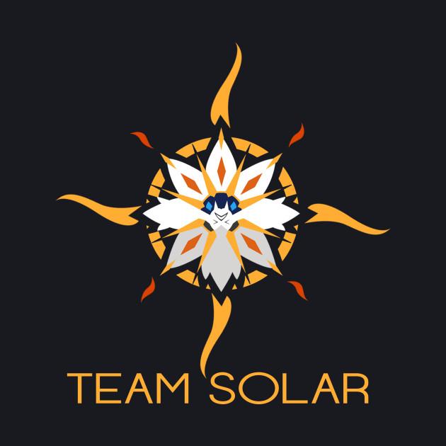 Represent #TeamSolar! Design by Hydros!