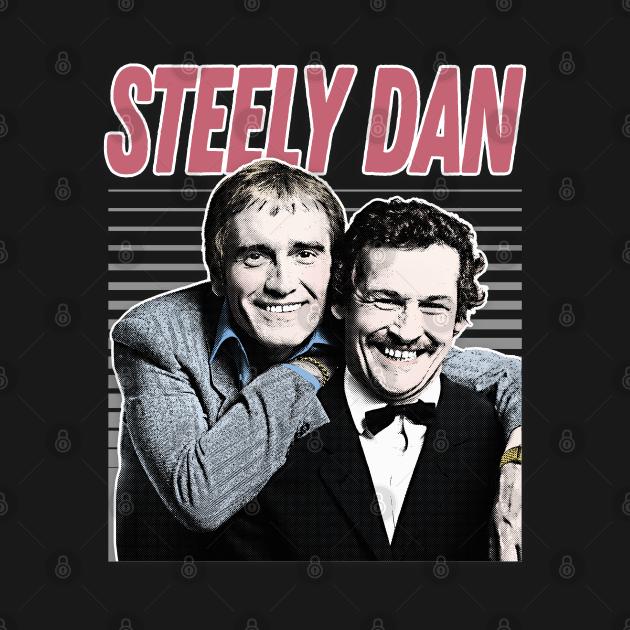 Steely Dan / Retro Aesthetic Meme British Humour Parody Design