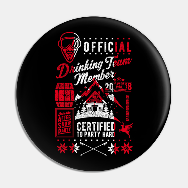 Canadian Drinking Team tee
