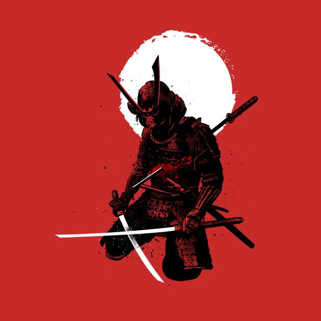 Samurai down