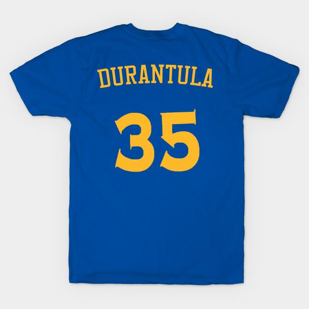 144c9186503d Kevin Durant  Durantula  Nickname Jersey - Golden State Warriors T-Shirt