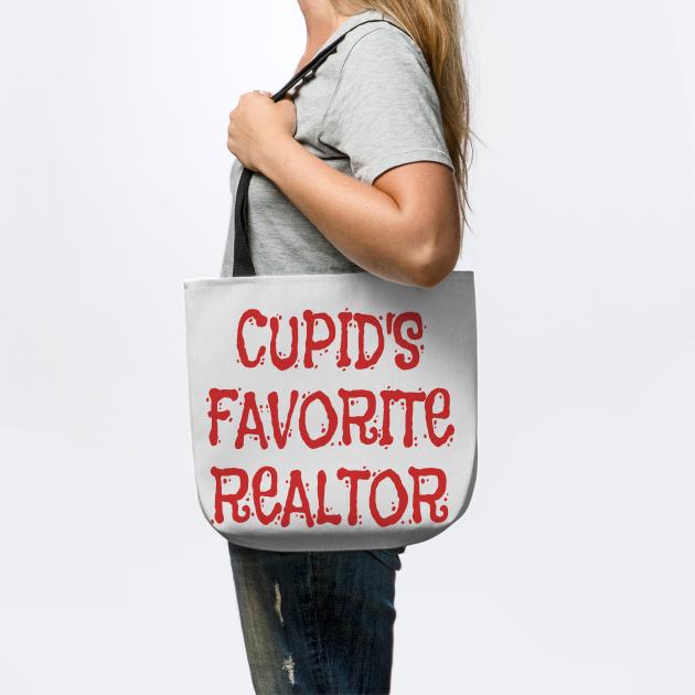 Cupid's Favorite Realtor print