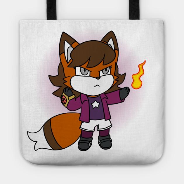 Chibi Fire Fox