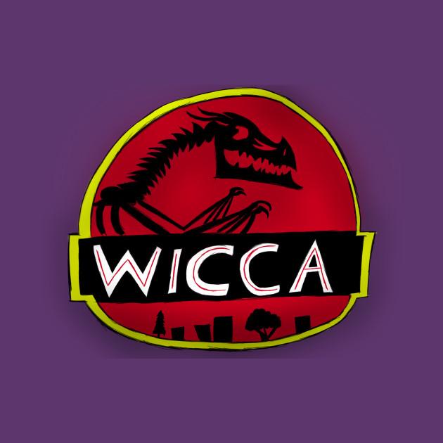 Wiccajurassic Park Logo Wicca Jurassic Park T Shirt Teepublic