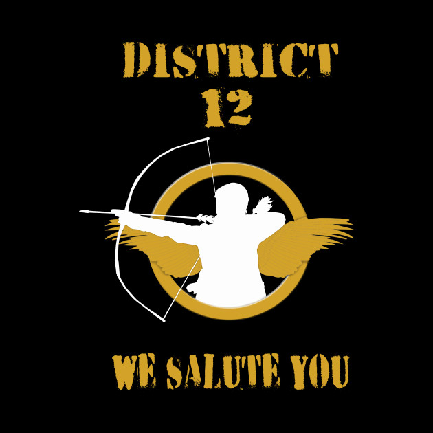 District 12 We Salute You The Hunger Games Mockingjay Pin Mug