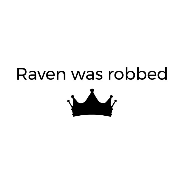 Raven was robeed
