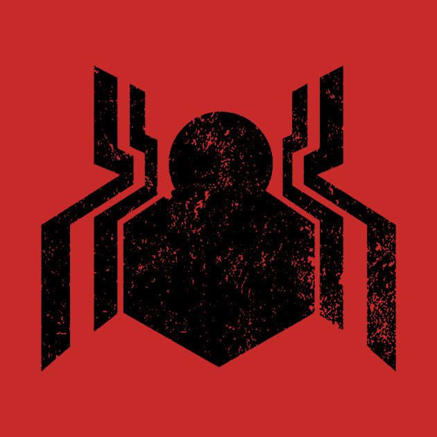 Spider Man Symbol Tattered Spider Man T Shirt Teepublic