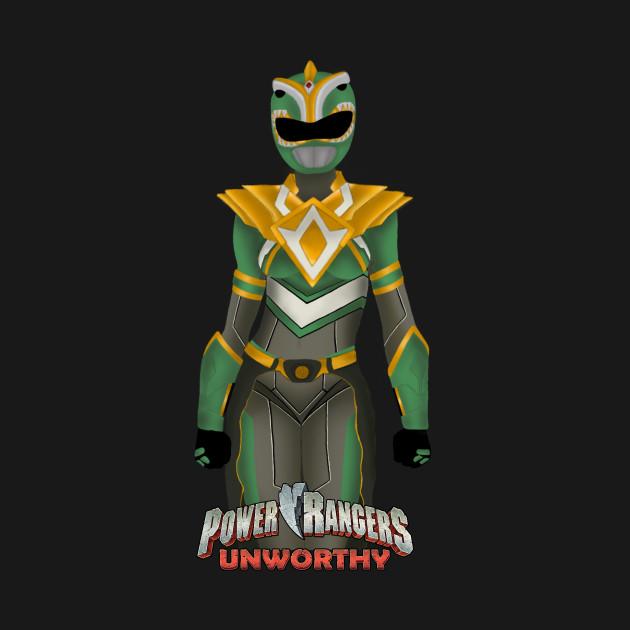 Power Rangers Unworthy Green Ranger