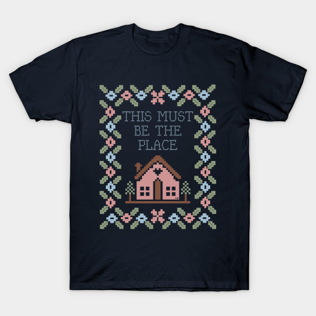 146c037e Talking Heads - This Must Be The Place - Talking Heads - T-Shirt ...