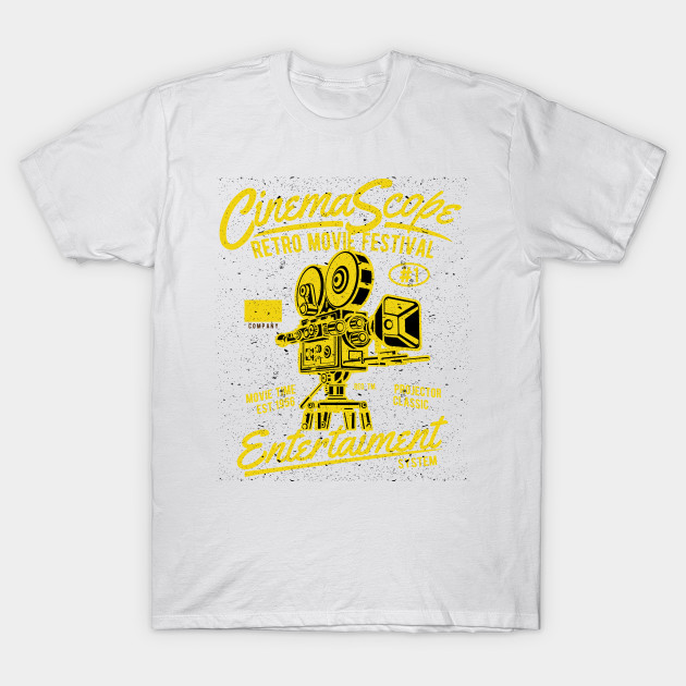 Cinema Scope Entertainment System T-Shirt-TOZ