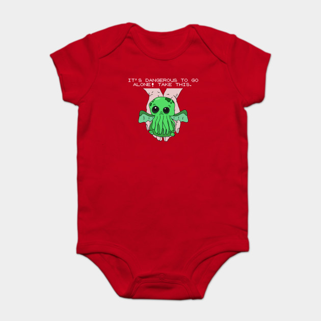 It's dangerous to go alone! Take this baby cthulhu.