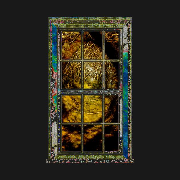 Window On A Golden Path