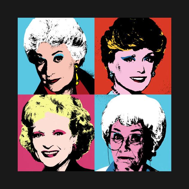 Golden Warhol Girls