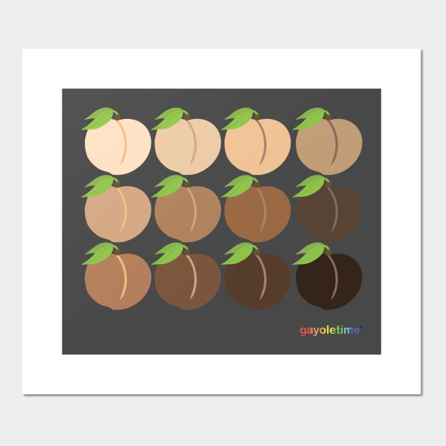 Peach Emoji Grid