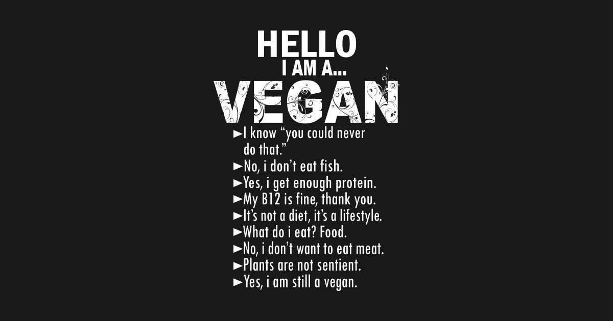 Vegan Gift T Shirt For Vegans Food Lifestyle Healthy Vegetarian Birthday Christmas