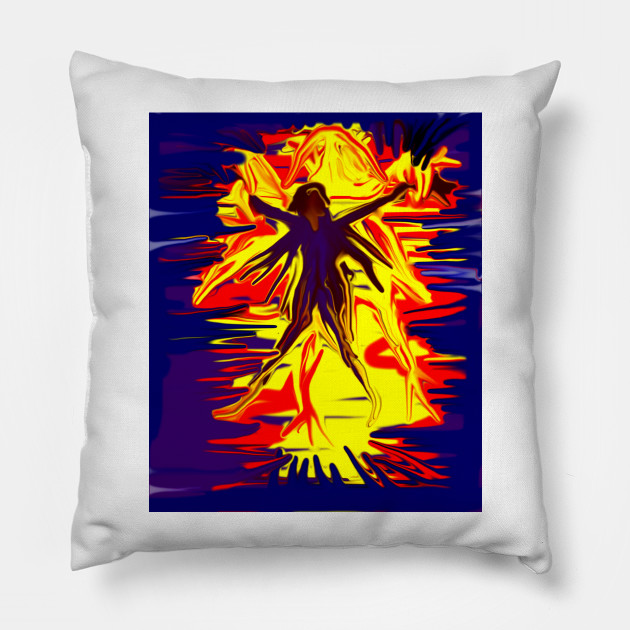 Ghost Attack Ghost Attack Pillow Teepublic