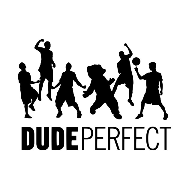 Dude perfect dude tank top teepublic for Dude perfect coloring pages