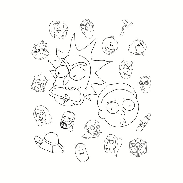 Rick and Morty Whole Cast