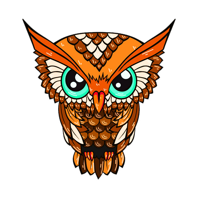 cute owl design bird owl cute owl eyes animal cool funky