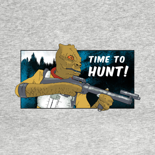 Bossk - Time to Hunt /w Background