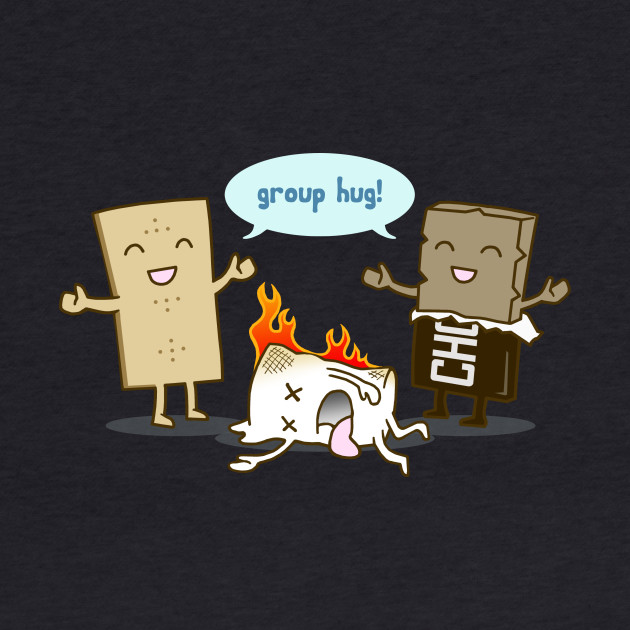 Funny - S'mores Group Hug!