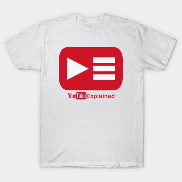 3bd6abcc0ed4 YouTube Explained Logo - Vinny - T-Shirt | TeePublic