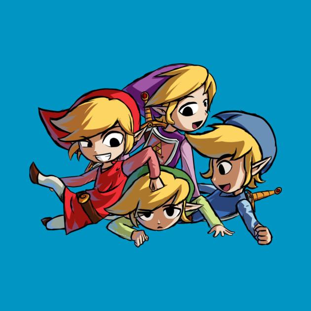 The Legend of Zelda Four Sword