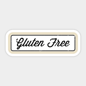 Gluten Free Stickers | TeePublic