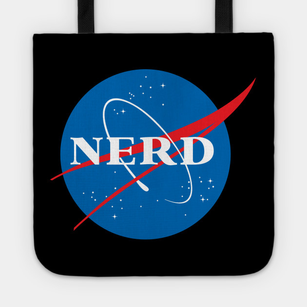 Nerd NASA Logo Geek Space Humor