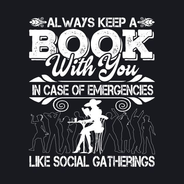 Always keep a book with you in case of emergencies