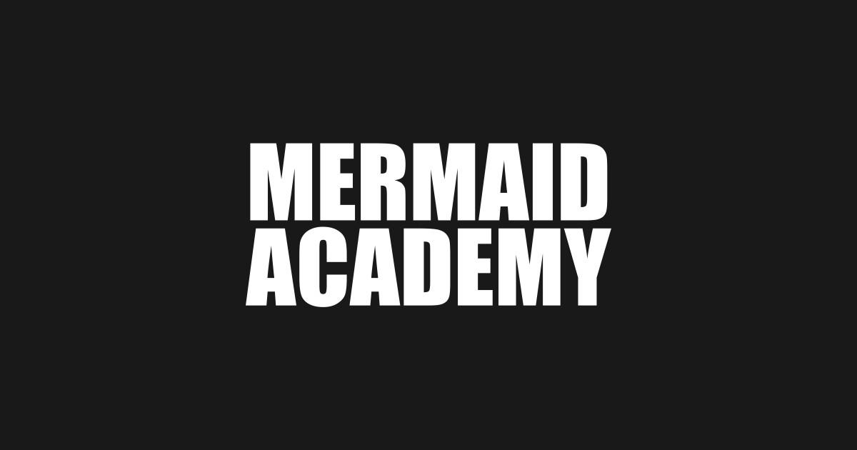 ab625bd720601 Mermaid academy sweatshirt gray crewneck for womens girls jumper funny  saying fashion tumblr by wordpower