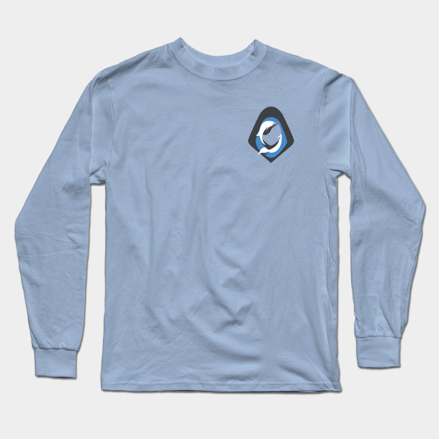 ba9656c5 Overwatch Ana Icon - Top Left Icon - Overwatch - Long Sleeve T-Shirt ...