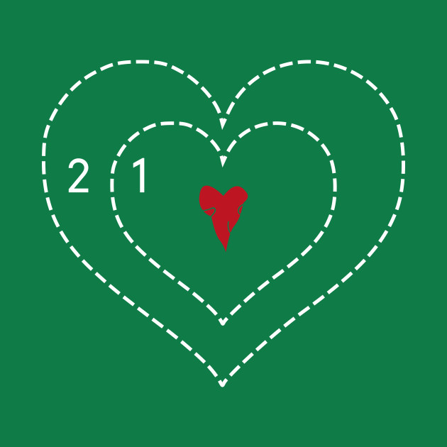 Grinch Heart - Two Sizes Too Small - Crewneck