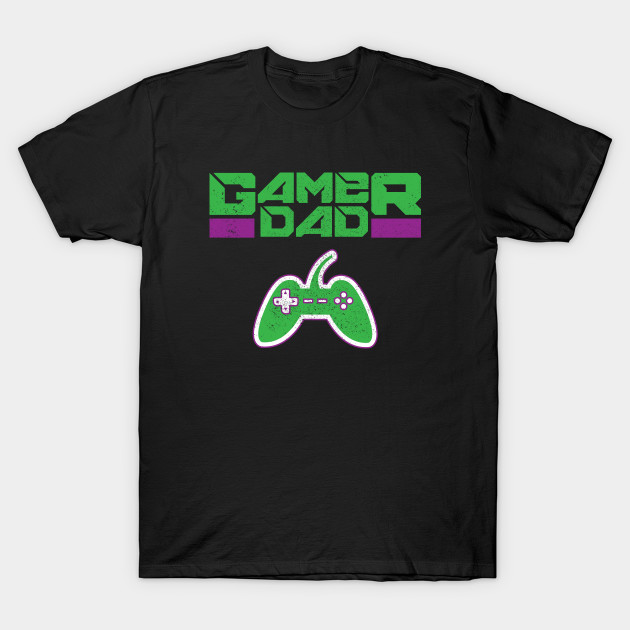 Gamer Dad Father's Day Gift T-Shirt
