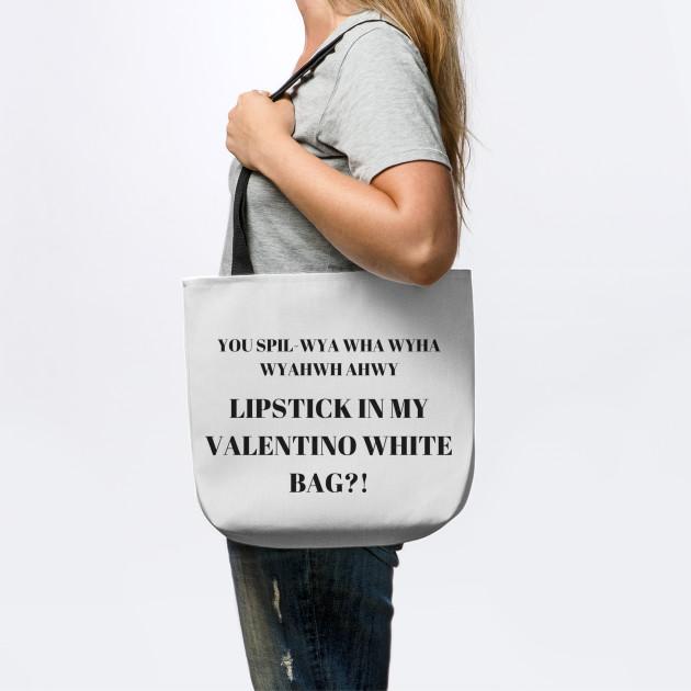 dfe3e663e5 LIPSTICK IN MY VALENTINO WHITE BAG LIPSTICK IN MY VALENTINO WHITE BAG ...